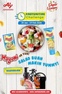 Bikin Salad Buah Berhadiah Smartphone? Ikutan Yuk Ma!!