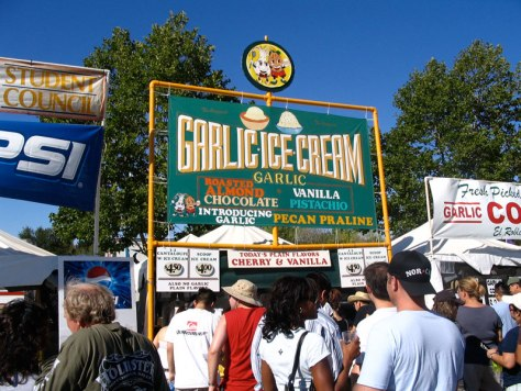 Garlic Festival Gilroy California