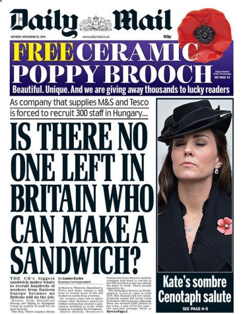 Apr 30 Sandwich