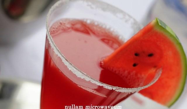 In the Mix: Watermeloen Martini
