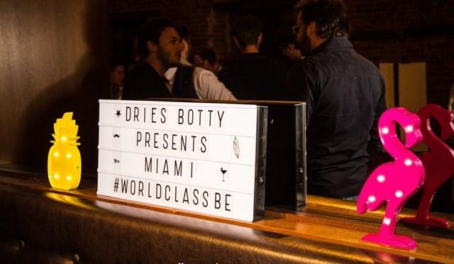 Volg Dries Botty live in Miami vanuit België