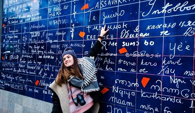 Le mur des je t'aime – Parijs