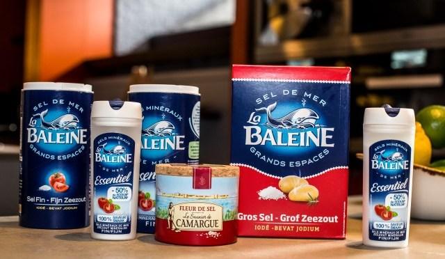 La Baleine Essentiel, 50% minder zout, 100% smaak