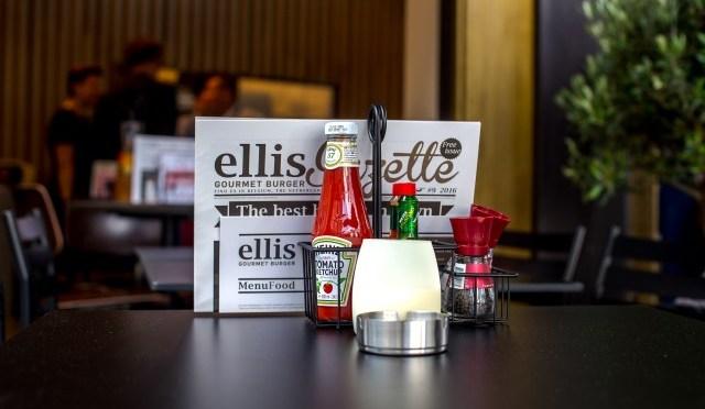 Nieuwste Ellis Gourmet Burger op het Flageyplein in Brussel