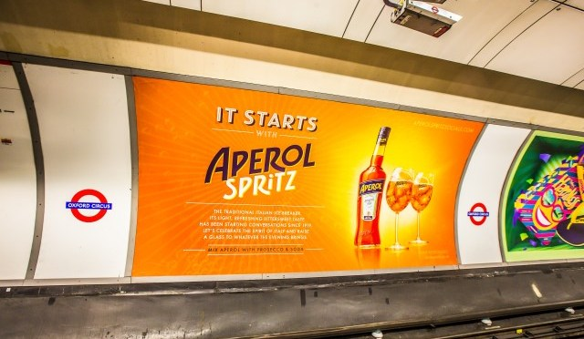 In the Mix Aperol Spritz met Lillet