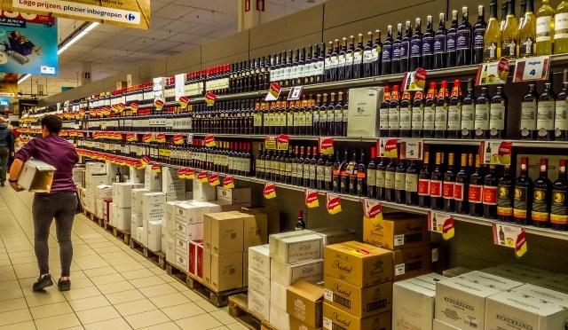Het wijnfestival van Carrefour