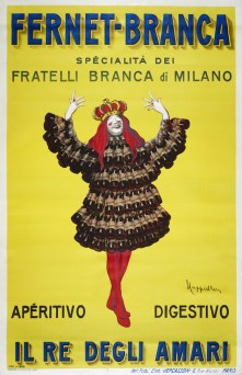 Fernet Branca Aperitivo Digestivo Vintage Poster (3)