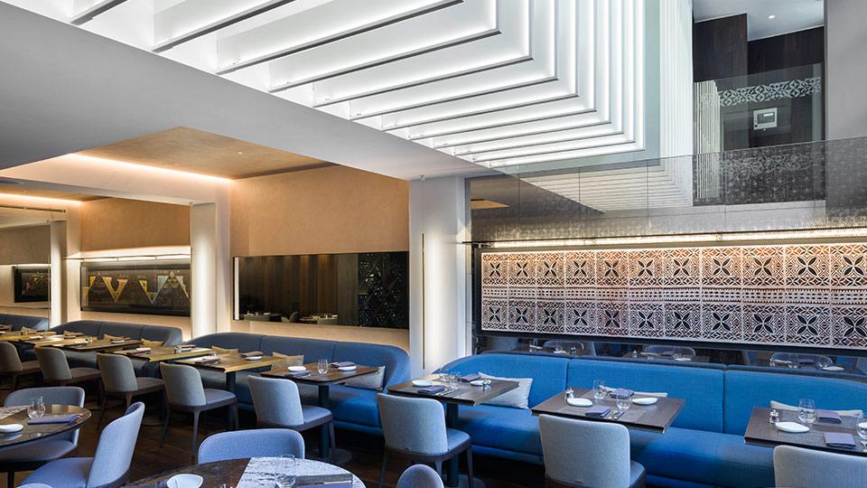 Mere Restaurant Charlotte Street Nulty Lighting