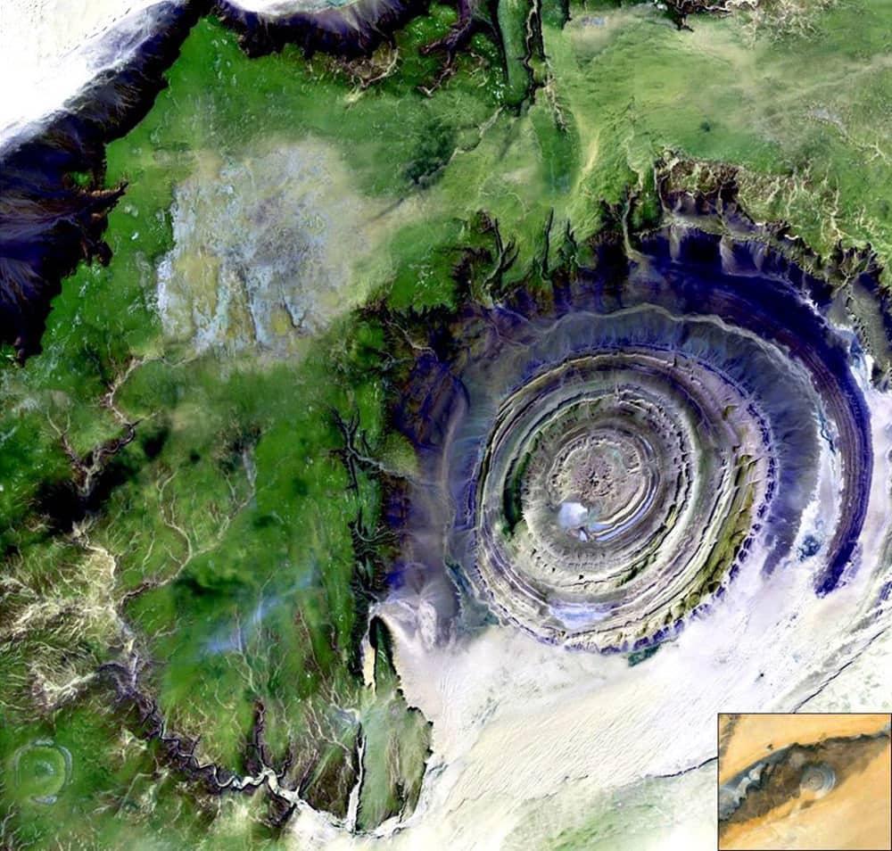 Estructura de Richat, Mauritania (El Ojo de África)