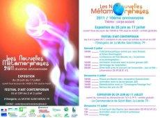 Nouvelles Métamorphoses 2011