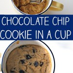 Chocolate Chip Cookie In A Cup No 2 Pencil