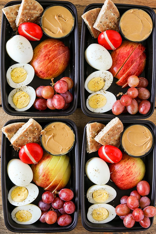 DIY Starbucks Protein Bistro Box - Easy Meal Prep! how to meal prep for the week