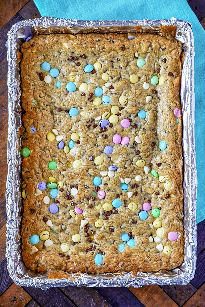 Easy Easter Dessert Easter M M S Cookie Bars No 2 Pencil