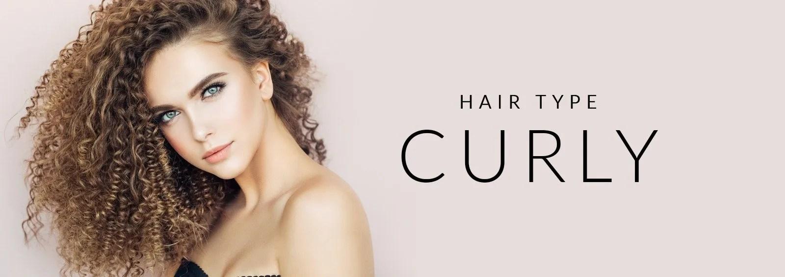 HairType Headers Curly