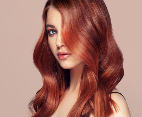 St Patrick's Day Tangle Free Hair Red Haired Model