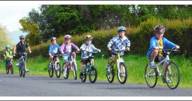 Photo of children on bikes