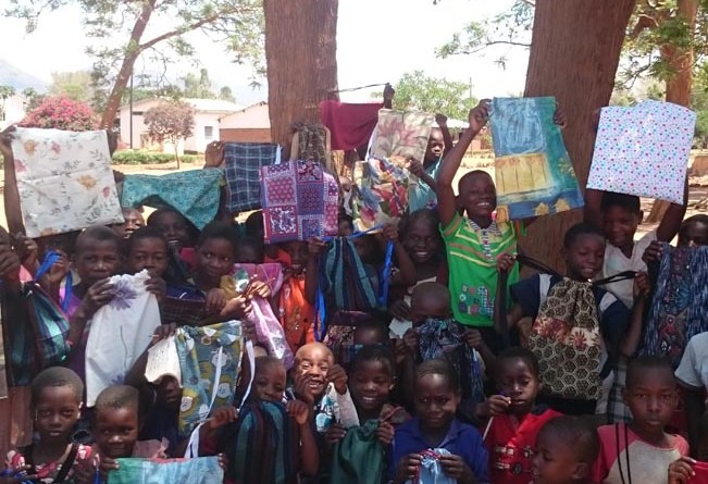 Bags for African school children