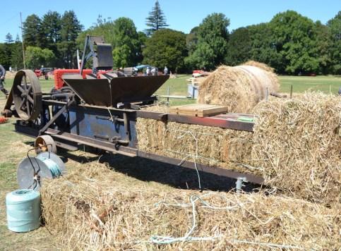 Old hay bailer