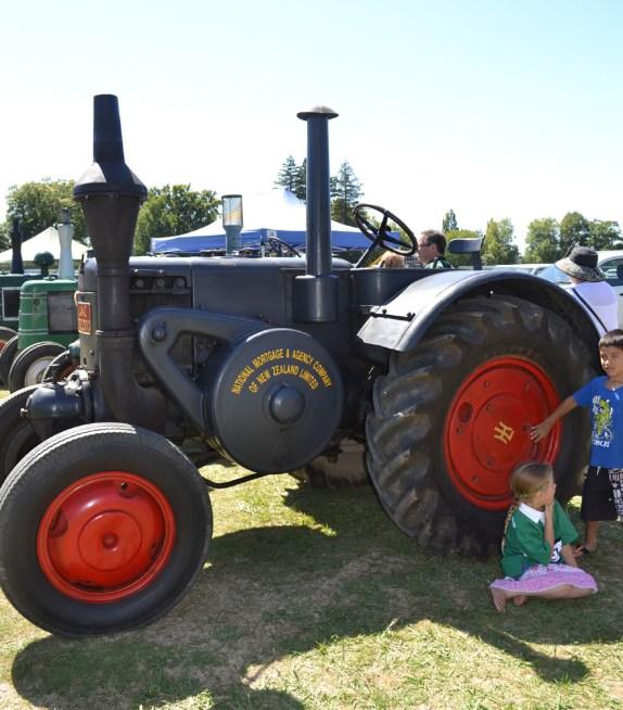 German tractor
