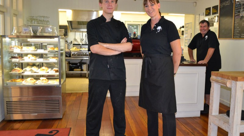 Woodlands Cafe owners