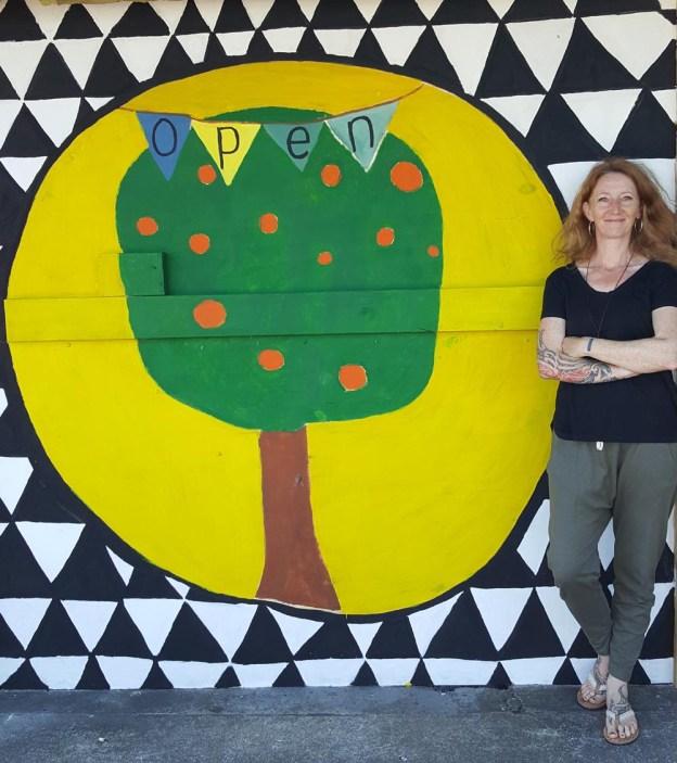 Mural at the Mandarin Tree