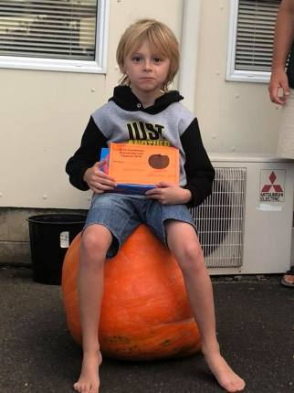 Orini School pumpkin