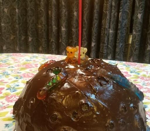Photo of chocolate Moon cake
