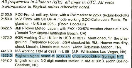 Buzzer log on 1992.