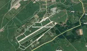 Military airbase in Chernakhovsk at 54.6028976, 21.7897511