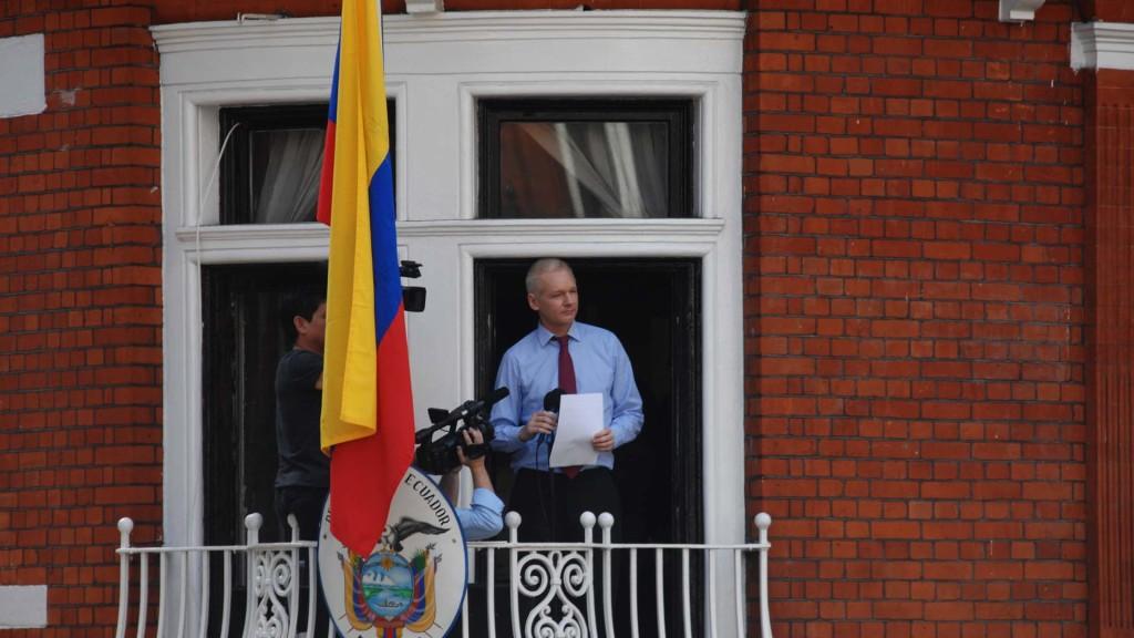 Assange ambassade