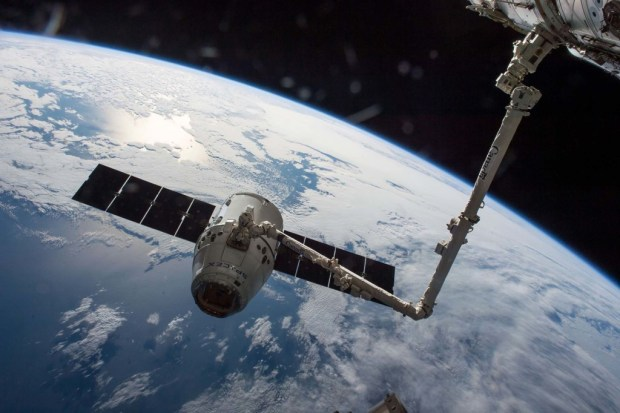 ISS Dragon SpaceX BEAM