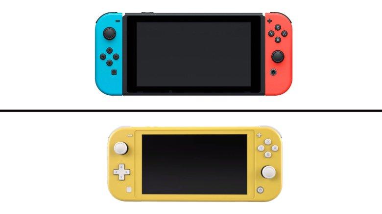 """Résultat de recherche d'images pour """"nintendo switch nintendo switch lite"""""""""""