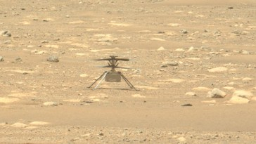 Ingenuity fait une « expérience scientifique imprévue » en volant sur Mars