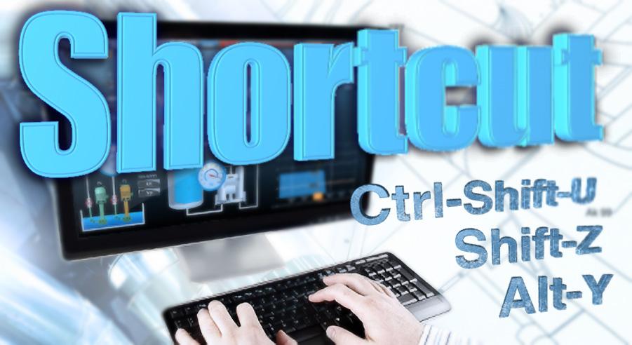 Movicon 11 shortcuts