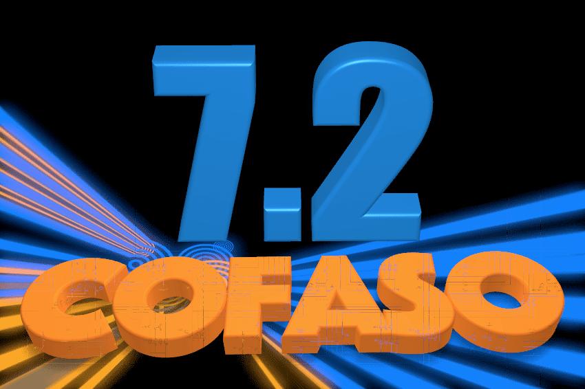 CAD cofaso обновился до версии 7.2