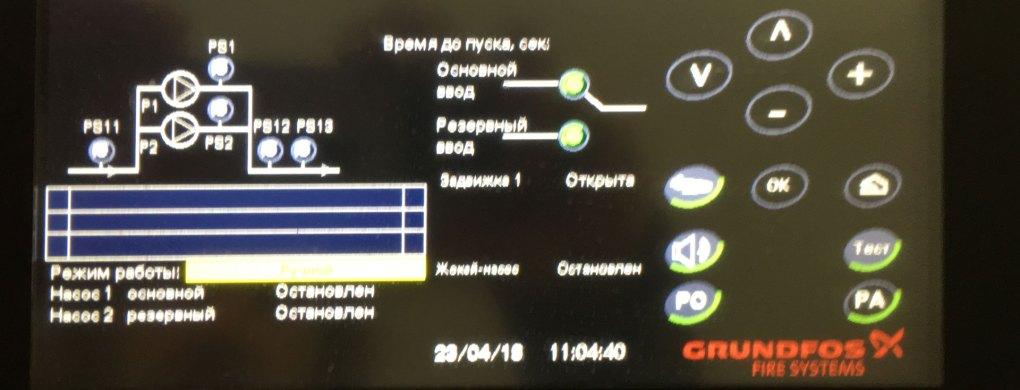 диспетчеризация насосной станции Grundfos