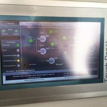 Диспетчеризация насосной станции пожаротушения Grundfos Control MX