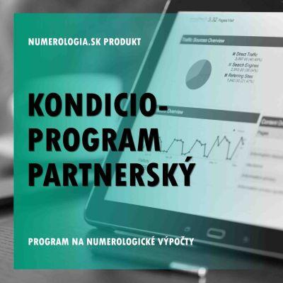 produkt Kondicio-program Partnerský