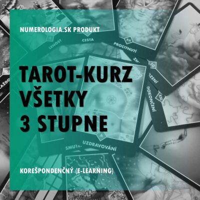 produkt Tarot-kurz všetky 3 stupne