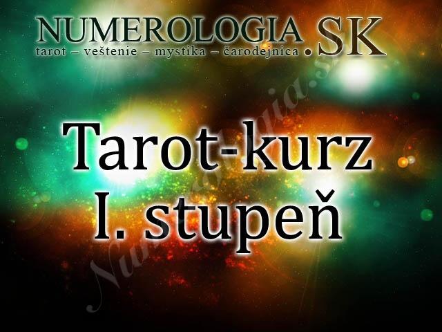 produkt Tarot-kurz I. stupeň korešpondenčný