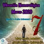 Marzo y su vibración con el maravilloso número 7