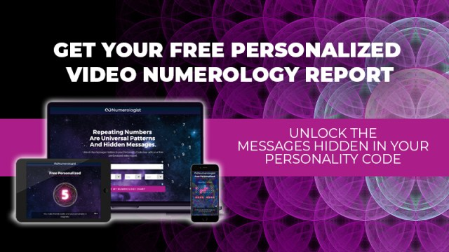 Get Your Free Personalized Video Numerology Report - Unlock The Messages Hidden In Your Personality Code