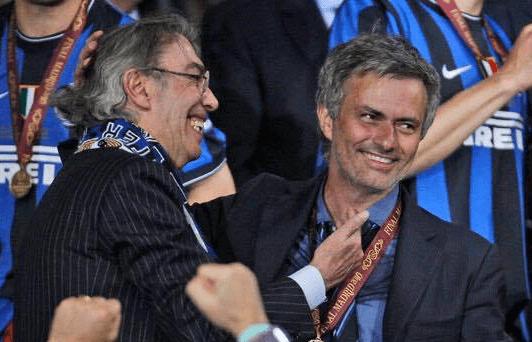 inter mourinho moratti