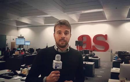 Mirko Calemme, corrispondente italiano per As