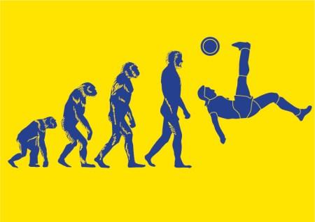 La teoria dell'evoluzione del calcio