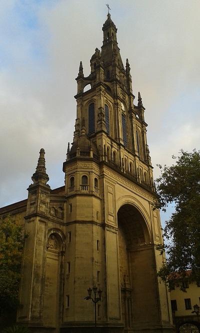 Basilica de Nuestra Señora de Begoña a Bilbao   numerosette.eu