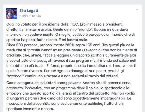 Elia Legati, farsi le ossa in Serie B | numerosette.eu