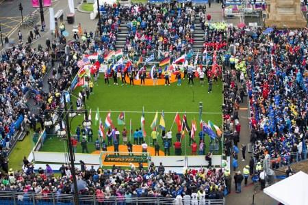 La cerimonia iniziale della Homeless World Cup   numerosette.eu
