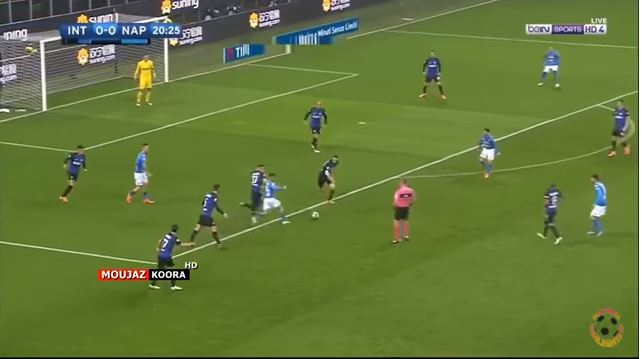 Brozovic recupera palla | numerosette.eu