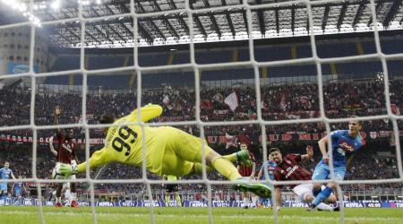 Donnarumma fa 100 in Serie A con una parata epica contro Milik all'ultimo minuto | Numerosetto Magazine